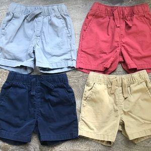 4 PAIRS The Children's Place Toddler Boys Shorts